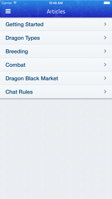 Breeding Guide for Dragon City Screenshot on iOS