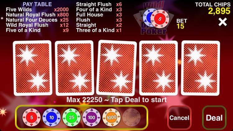 Wild Dream Poker - Deuces Wild
