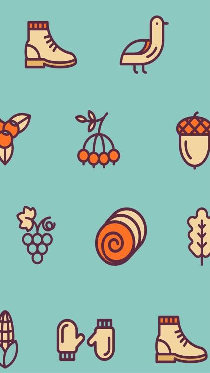 Autumn Stickers - Pumpkin Spice Latte