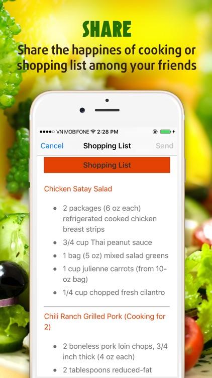 Salad Recipes Pro ~ The Best Easy & Healthy Salad Recipes screenshot-4