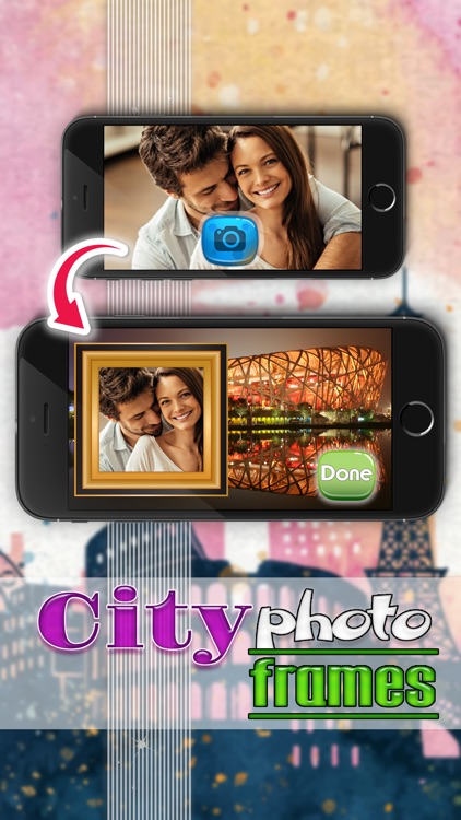 City View Picture Frame.s - Selfie Photo Editor