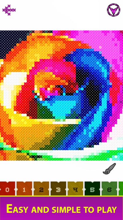 Cross Stitch - Color by Number screenshot-5