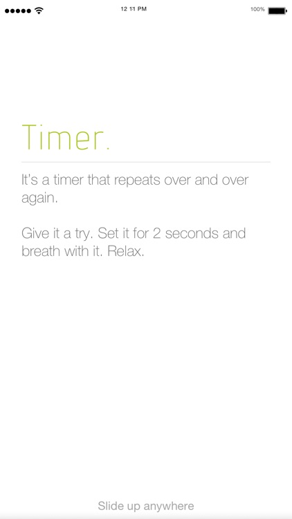 Simple Repeat Timer. screenshot-0