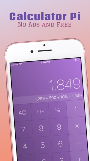 calculator pi best for ipad on the app store