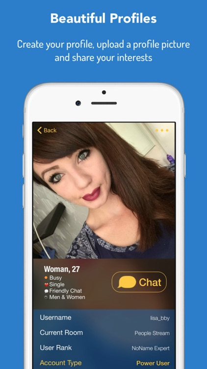 NoName - Anonymous Chat Rooms to Meet New People