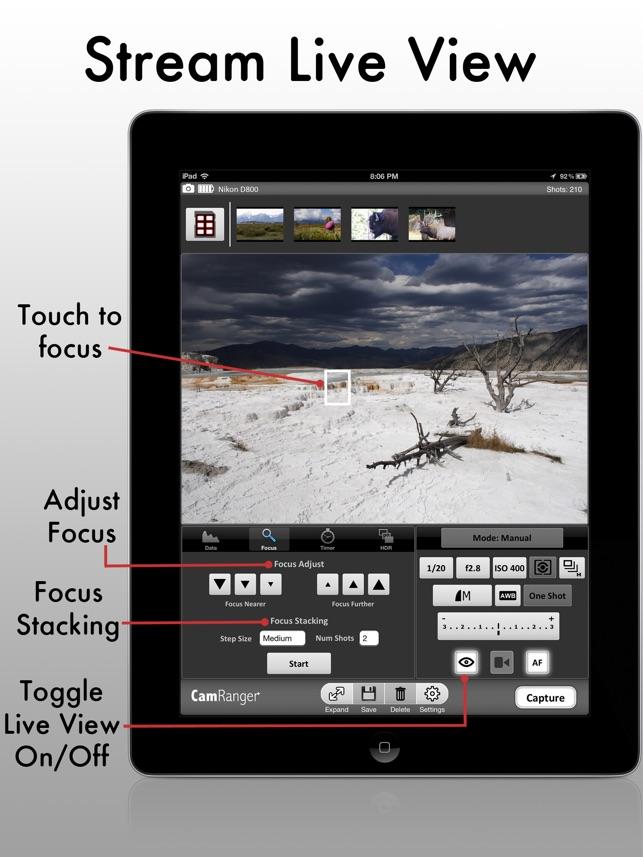 Camranger wireless dslr camera on the app store camranger wireless dslr camera on the app store fandeluxe Images