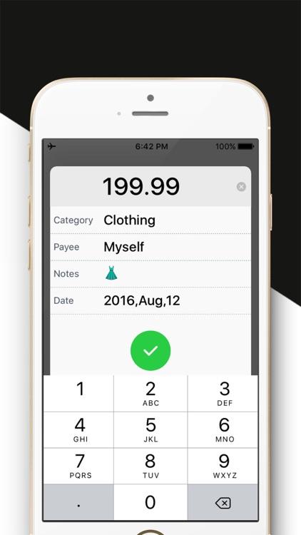 Daily Expense Tracker 2 - Easy Spending Expense. screenshot-4