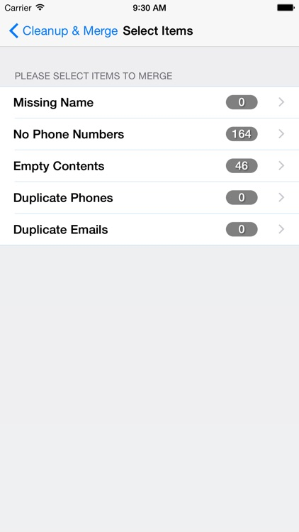 Clean, Merge & Remove Duplicate Contacts Elite screenshot-4