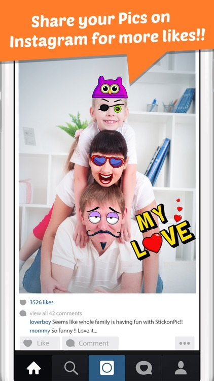 StickonPic Photo booth : Fun sticker app editor and props for adults screenshot-4