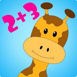 Safari Math Free - Addition and Subtraction game for kids