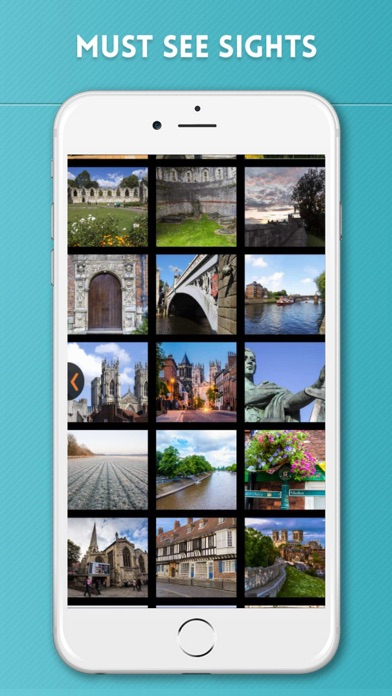 York Travel Guide with Offline City Street Map screenshot four