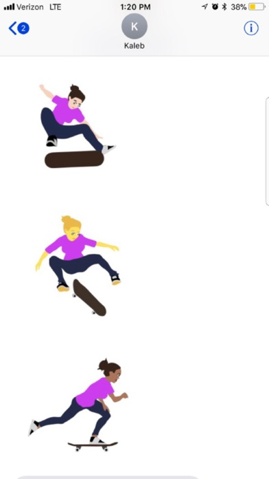 Bit Skate Emoji Screenshot 3