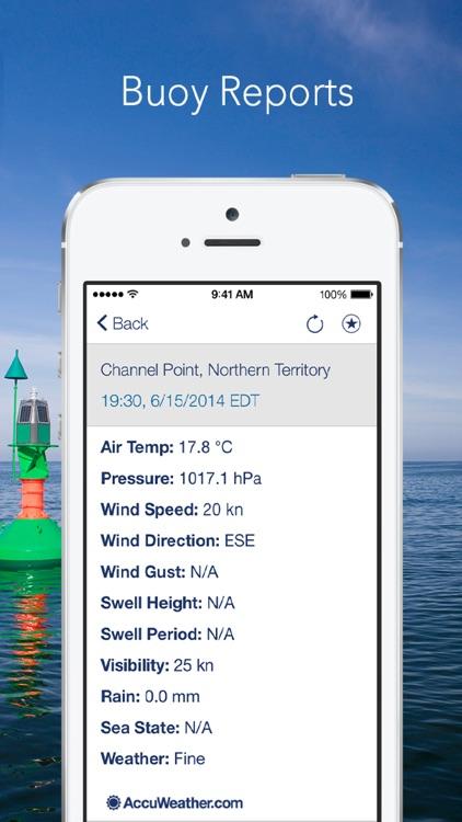 Marine Weather Plus by AccuWeather: AU Edition screenshot-3