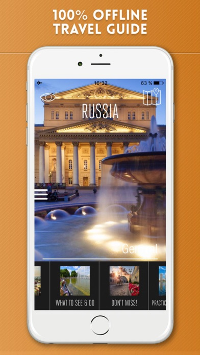 Russia Travel Guide and Offline Street Map screenshot one