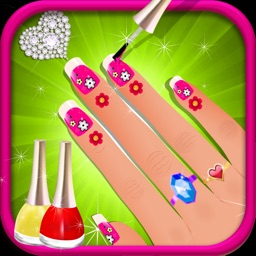 Nail Art Dress up Salon 2 -Princess Manicure Spa and Beauty Salon game for kids, teens and girls