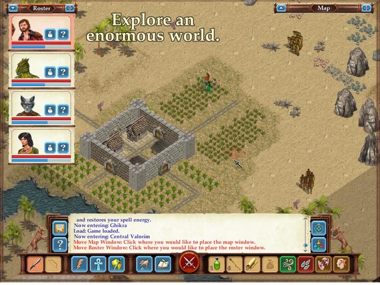 Avernum 3: Ruined World HD screenshot-3