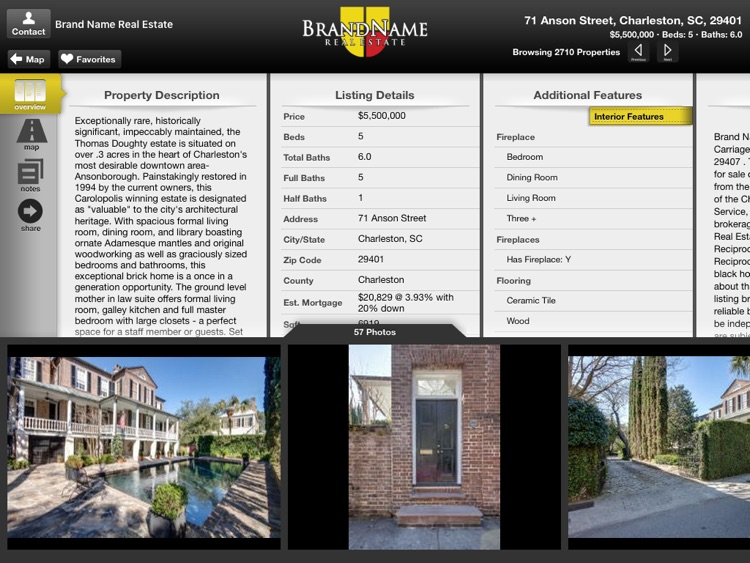 Brand Name Real Estate for iPad screenshot-3
