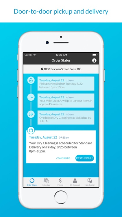 RINSE- Dry Cleaning & Laundry screenshot-3