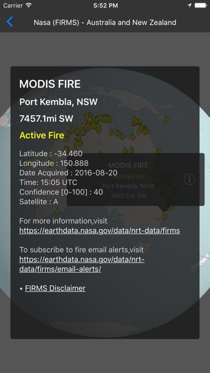 Fires - 3D Fire Map screenshot-4
