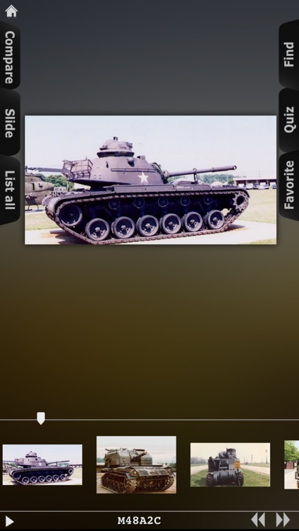 Tanks from Cold War