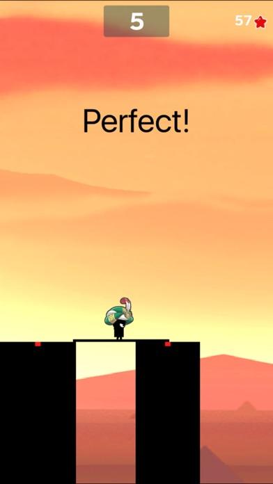 Super Stick Man Run 2-Ninja  jump fruit hero free game screenshot four