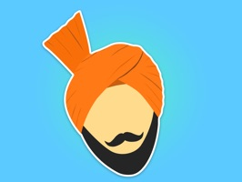 Try our Punjabi Stickers, first ever launched, offering you the most entertaining way of chatting with your friends and family