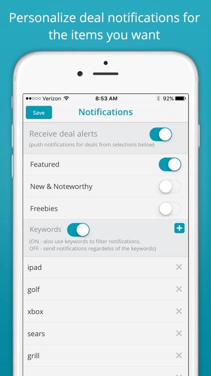 Saviry by 1Sale - Deals, Freebies, Sales app image