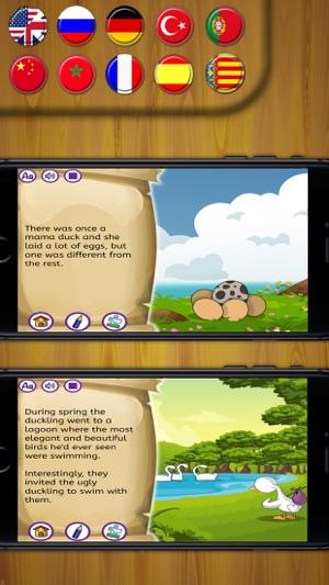 Cirkin Ordek Yavrusu Klasik Kisa Oykuler App Store Da