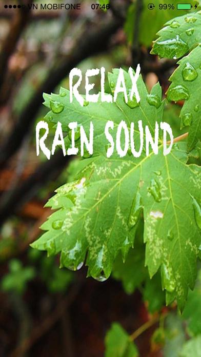 Relax Rain Sounds - Relaxing Sounds for Yoga screenshot one