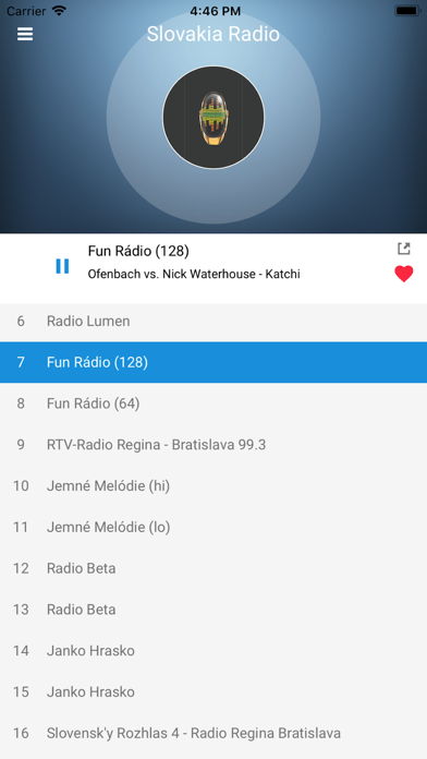 Slovakia Radio Station: Slovak screenshot four