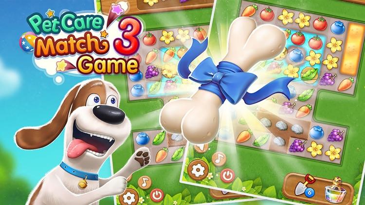 Pet Care Match 3 Game