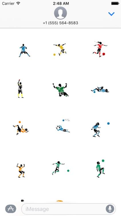 Soccer Emoji - Sticker