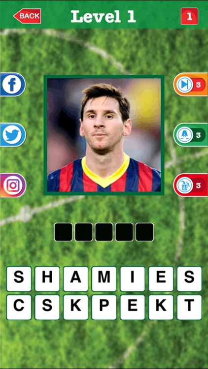 Soccer Trivia Quiz, Guess the football for FIFA 17