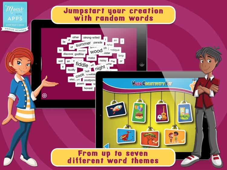 Word Creativity Kit - Creative writing for kids screenshot-0