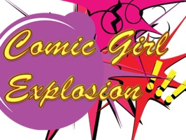 Comic Girl Explosion is a fun, empowering set of stickers for women