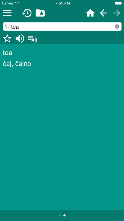 English Croatian Dictionary Pro screenshot-3