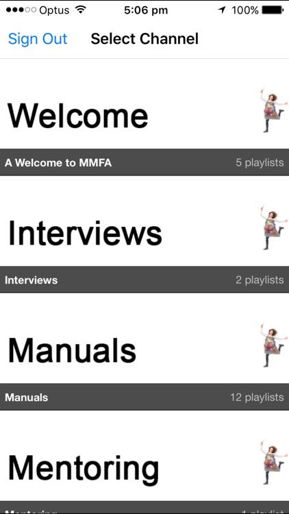 MMFA Program