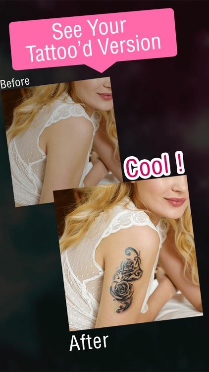 Tatto Designer Booth PRO- Add Tattoos on your body screenshot-3