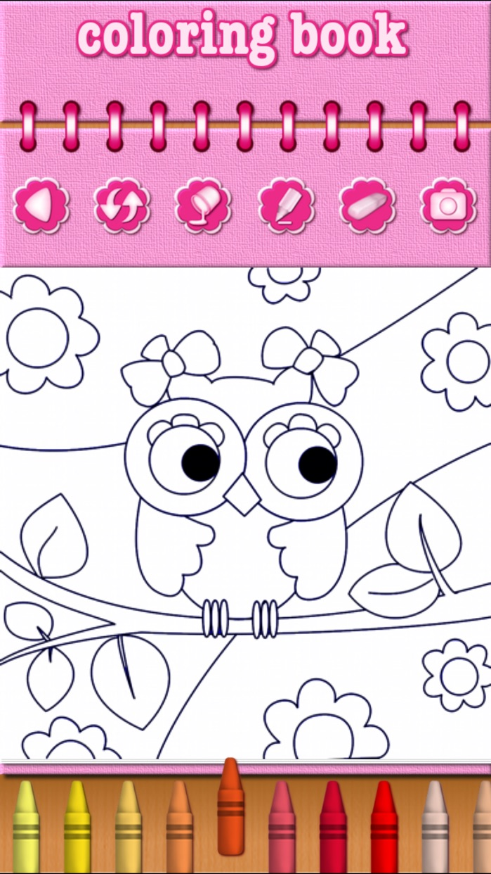 Animal Zoo Coloring Book for Kids and Preschool Toddler Screenshot