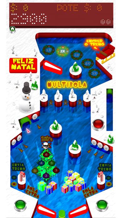 Pinball Xmas BR screenshot two