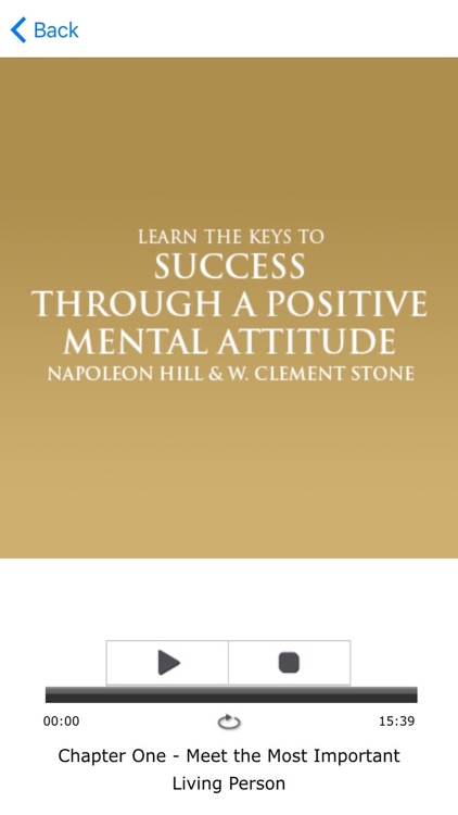 Success Through A Postive Mental Attitude by by Napoleon Hill & W. Clement Stone Meditiations Audiobook screenshot-3