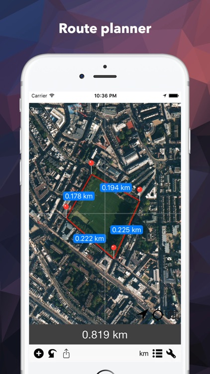 DistancePinner - Map Distance Calculator/Planner