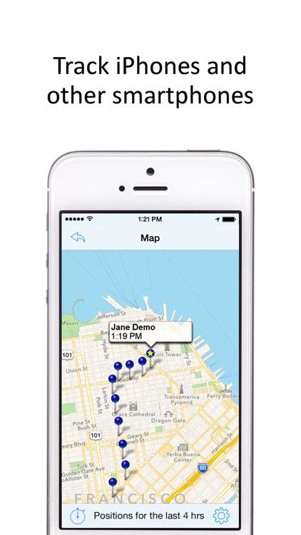 GPS Phone Tracker - GPS Tracking screenshot-3