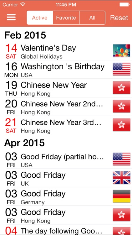 WorldCal - World Calendar Country Public Holiday