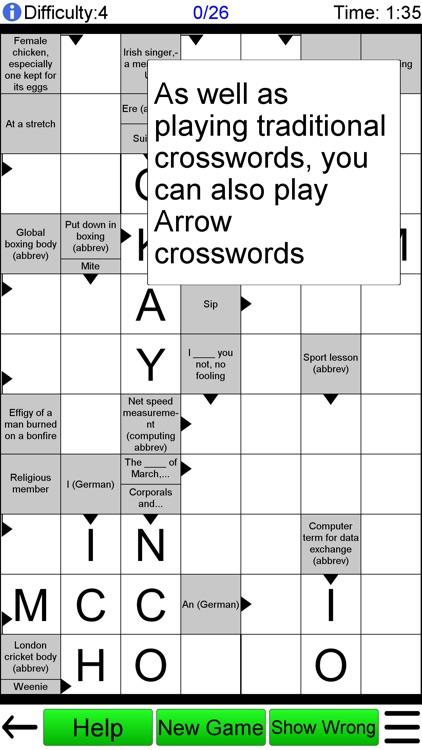 Compact Crossword
