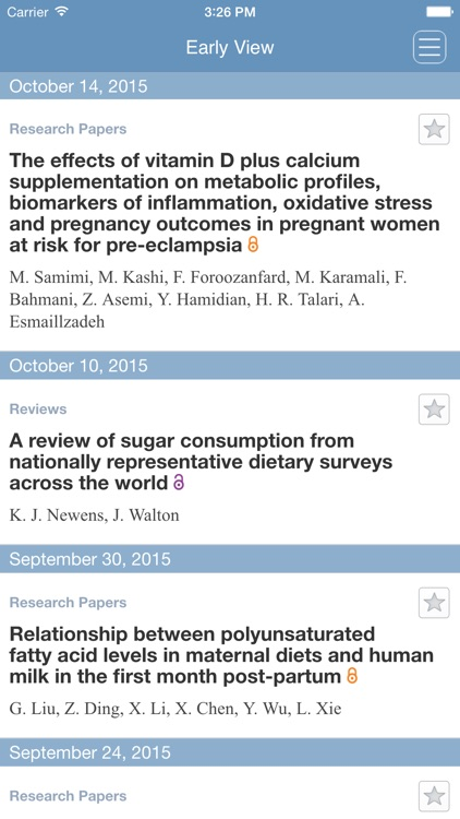 Journal of Human Nutrition and Dietetics App screenshot-4