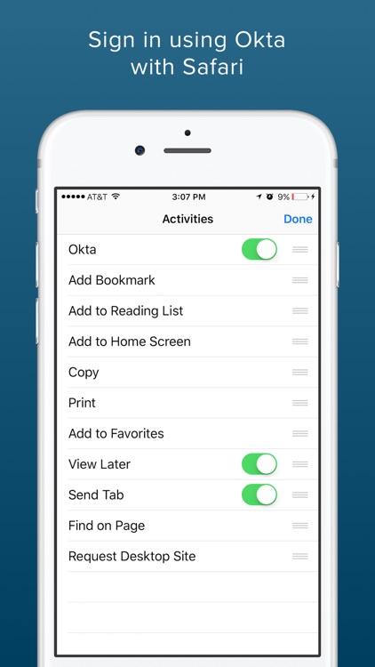 Okta Mobile screenshot-3