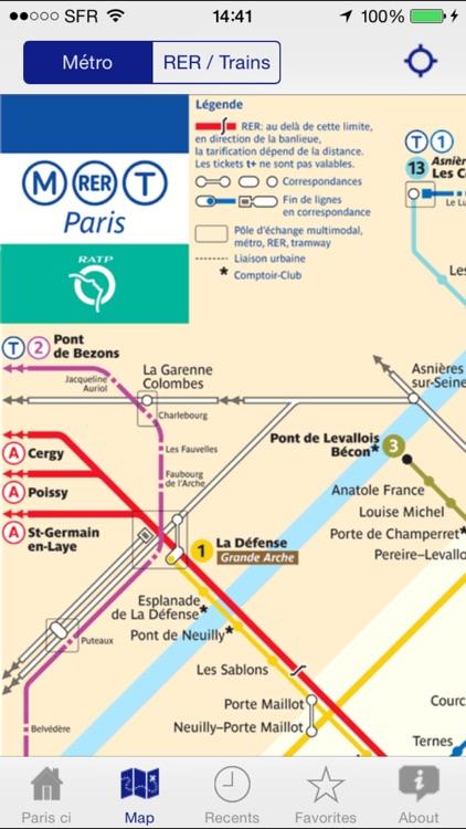 Paris ci la sortie du Métro - Exit Strategy Paris screenshot-4