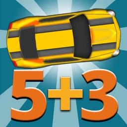 Math Master Racing Flash Cards