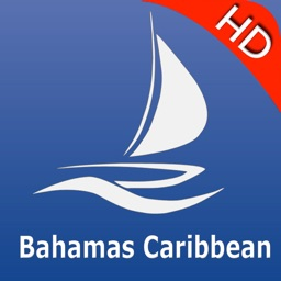 Bahamas Caribbean GPS Nautical charts pro
